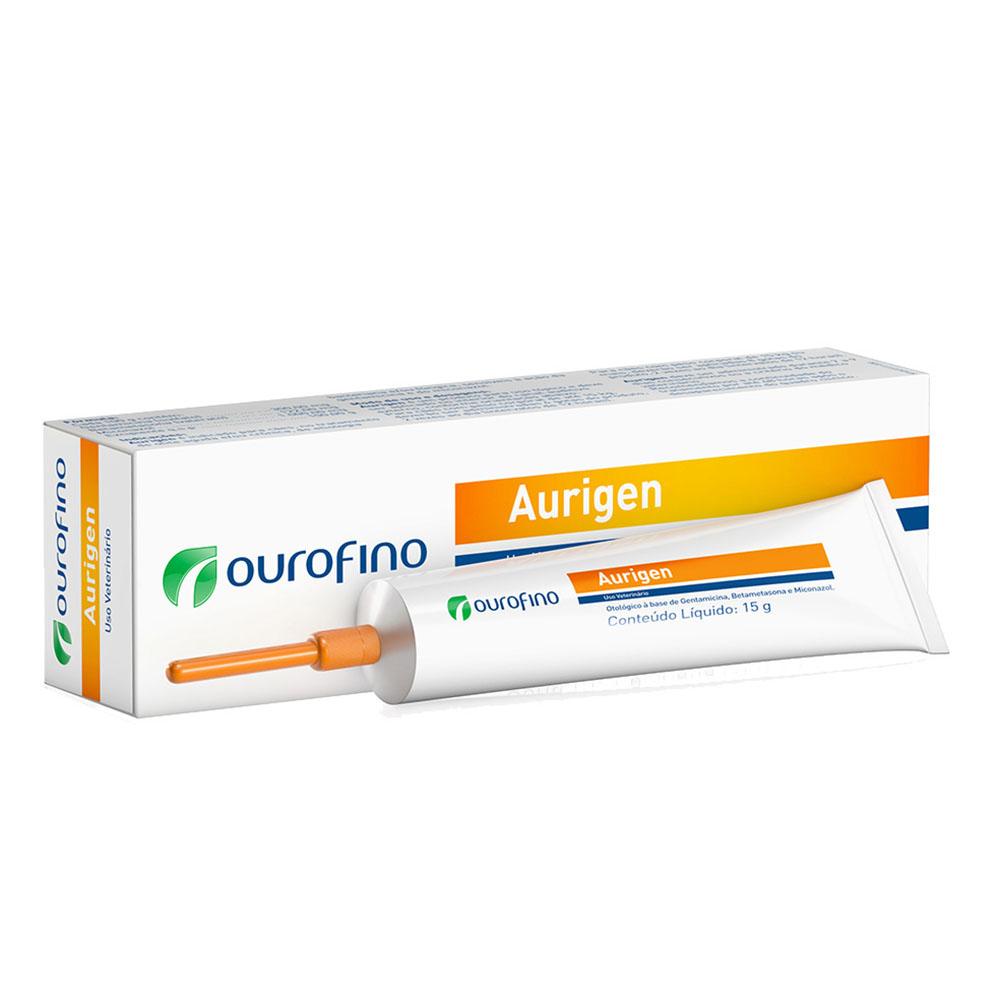 Gel Otológico Aurigen 15g - Ourofino