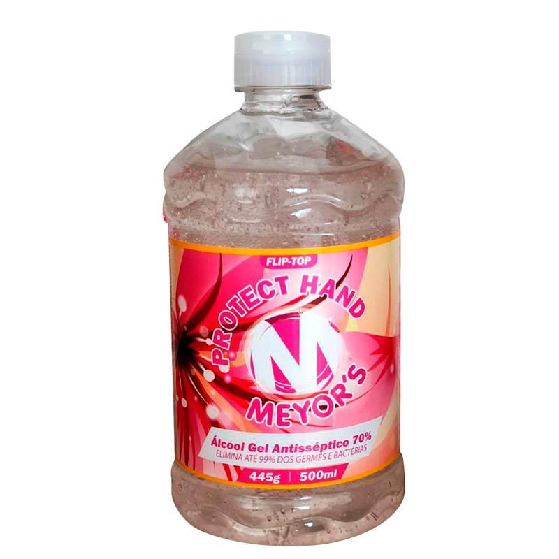 Álcool em gel 70% Meyors 500ml