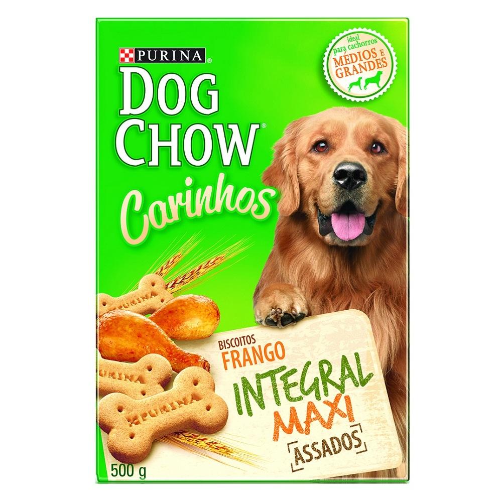 Biscoito Dog Chow Carinhos Integral Maxi Purina