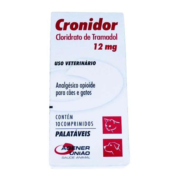 Analgésico Cronidor 12 mg - Agener União